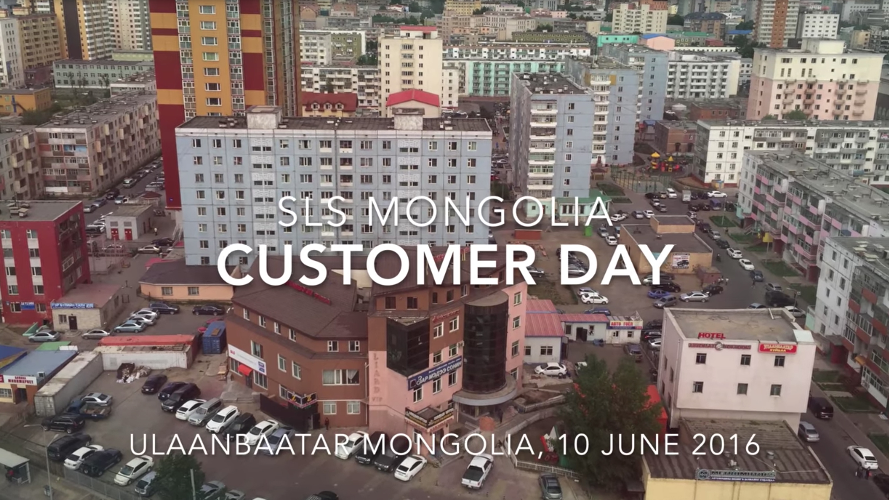 SLS Bearings Mongolia Customer Day (10 June 2016)