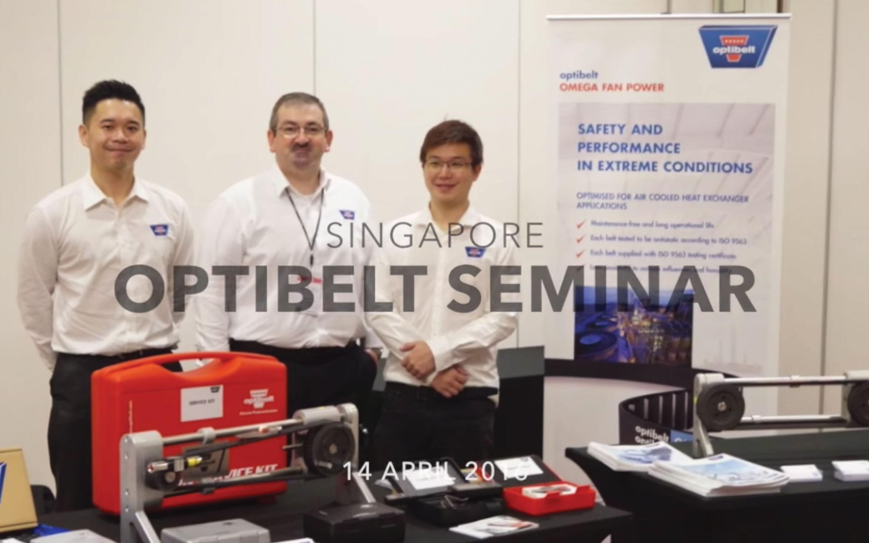 Optibelt Seminar, Singapore<br>(14/04/2016)