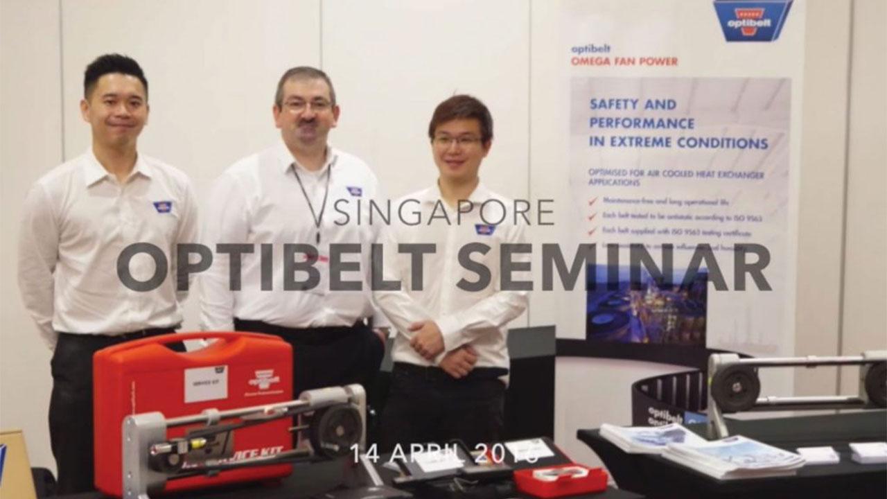 Optibelt Seminar, Singapore<br></noscript>(14/04/2016)