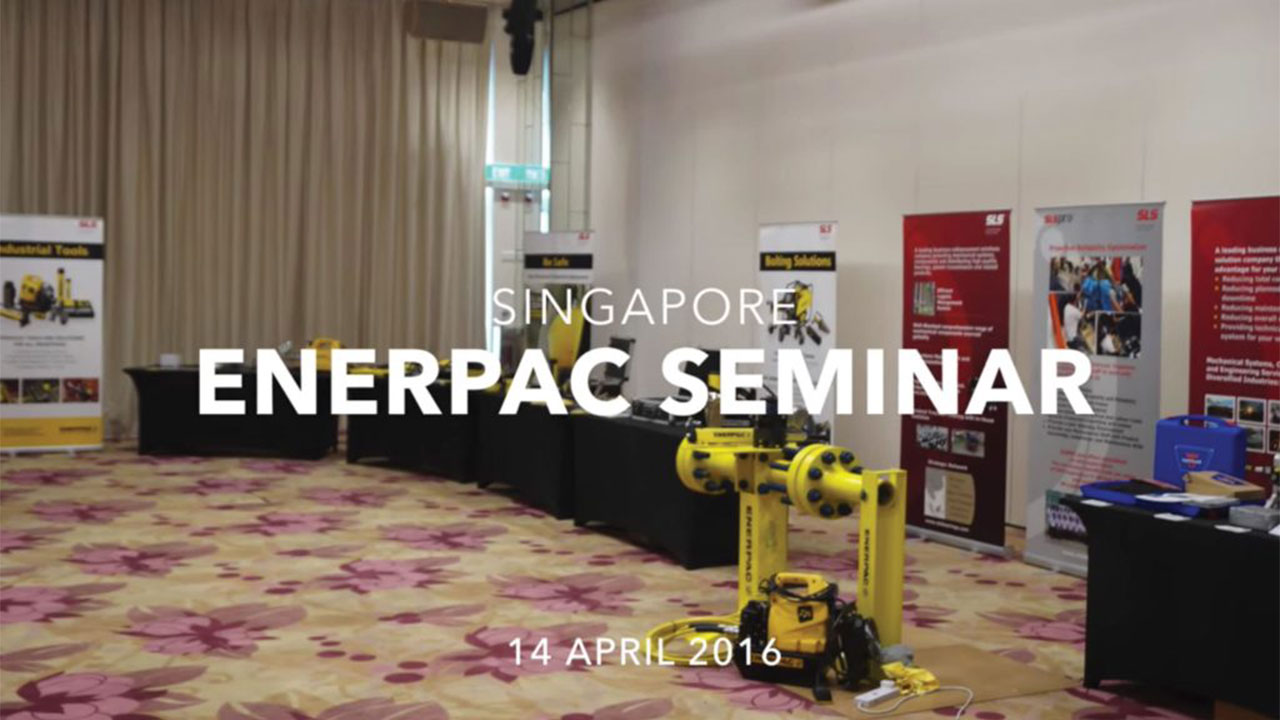 Enerpac Seminar, Singapore (14/04/2016)
