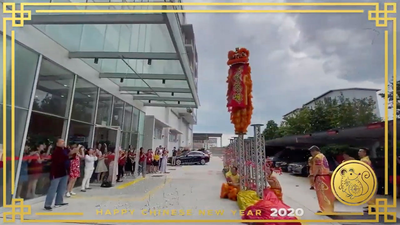 SLS Celebrate Chinese Lunar New Year 2020