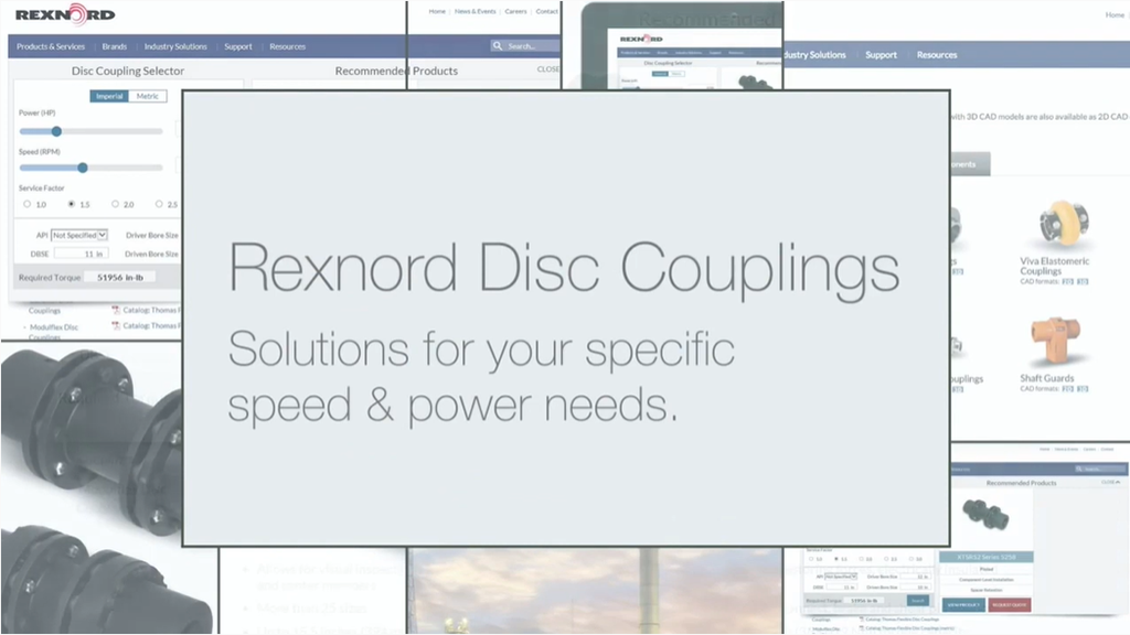 Rexnord Disc Coupling Offering Overview l SLS Partner Rexnord