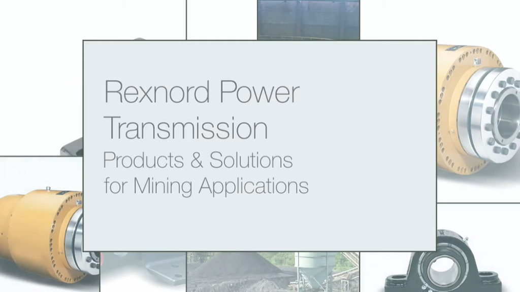 Rexnord Mining Applications Products & Solutions l SLS Partner Rexnord