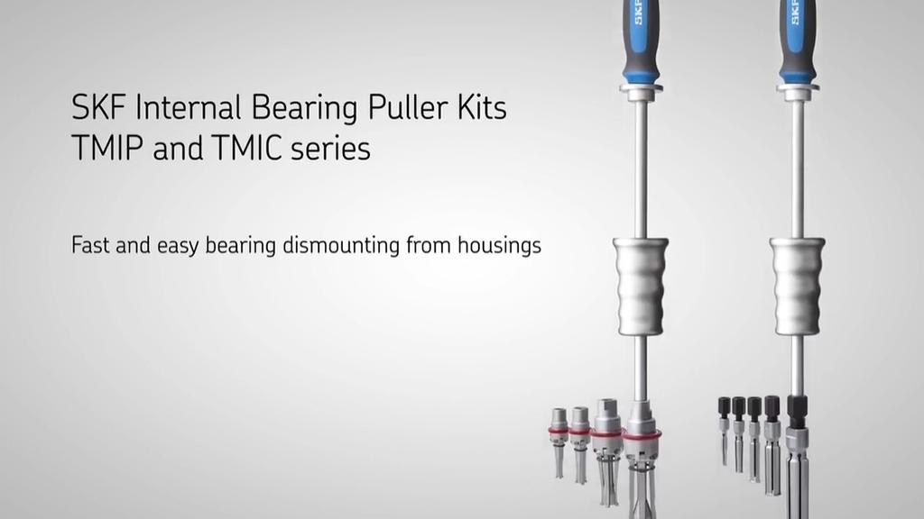SKF Internal bearing pullers TMIP and TMIC series l SLS Partner SKF