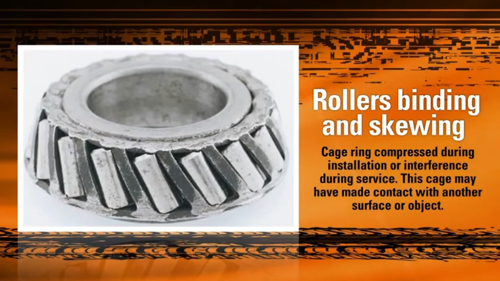 Bearing Damage Analysis for Tapered Roller Bearings l SLS Partner Timken