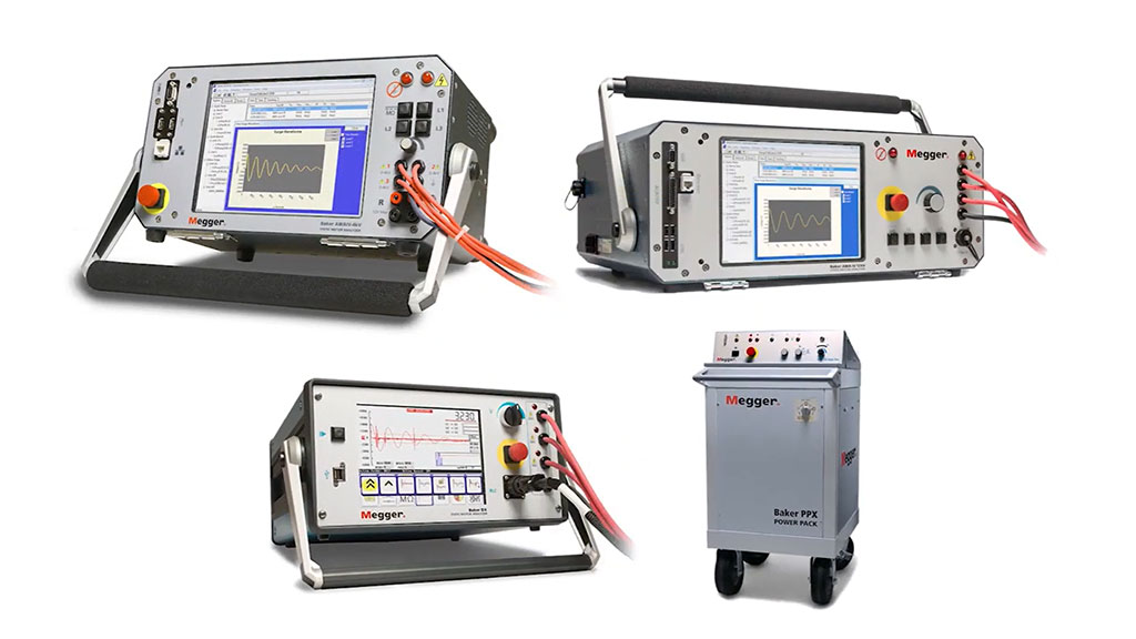 Electric motor insulation testing with Baker Instruments static analyzers l SLS Partner Megger