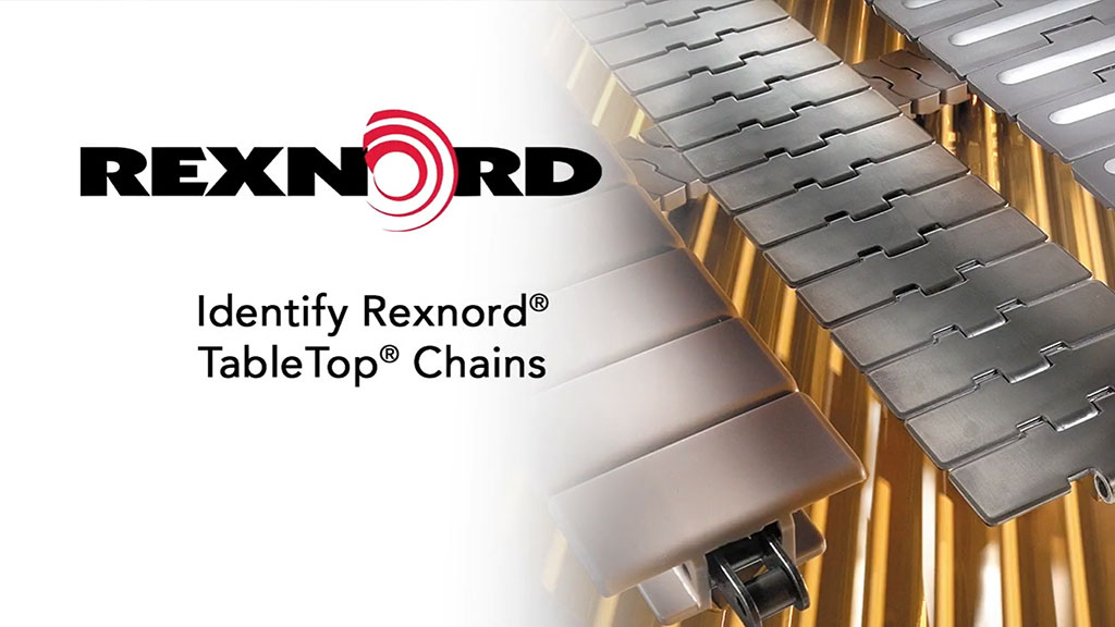 How To Identify Rexnord TableTop Chains l SLS Partner Rexnord