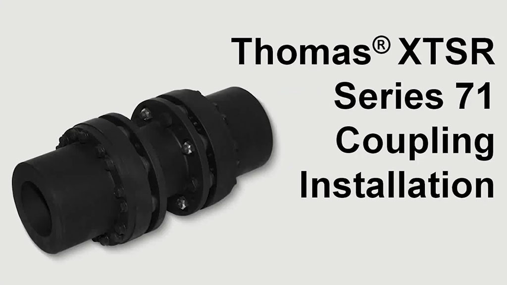 How to Install a Thomas Disc Coupling l SLS Partner Rexnord