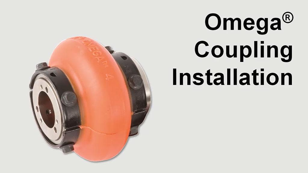 How to Install an Omega Elastomeric Coupling l SLS Partner Rexnord
