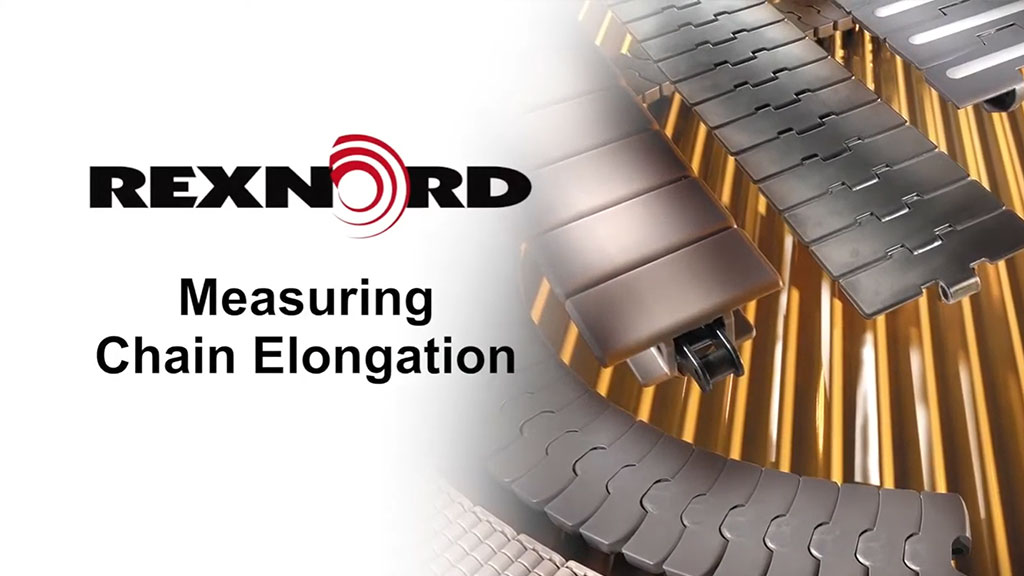 How to Measure Chain Elongation for Rexnord FlatTop Chain l SLS Partner Rexnord