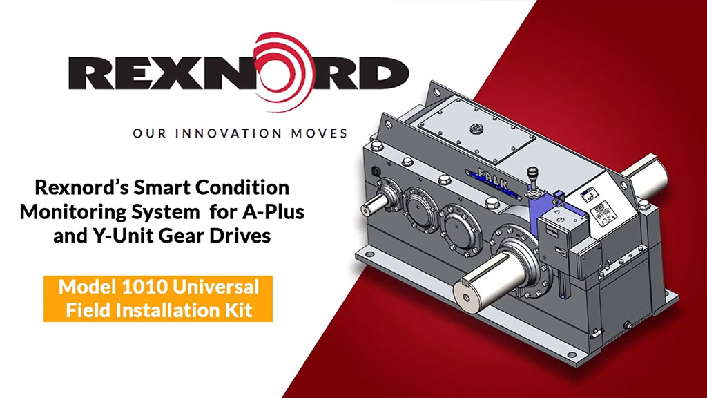 Installing Smart Condition Monitoring System on A-Plus and Y-Unit Gear Drives l SLS Partner Rexnord