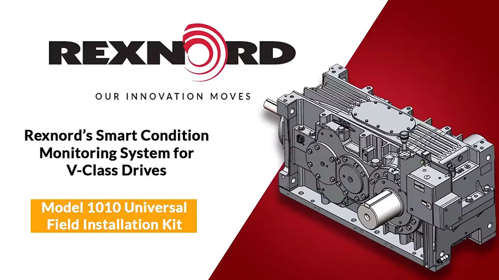 Installing Smart Condition Monitoring System on V Class Drives l SLS Partner Rexnord