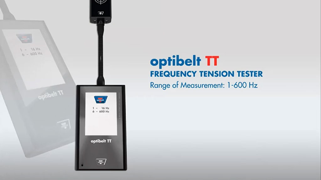 Optibelt TT Frequency Tension Tester l SLS Partner Optibelt