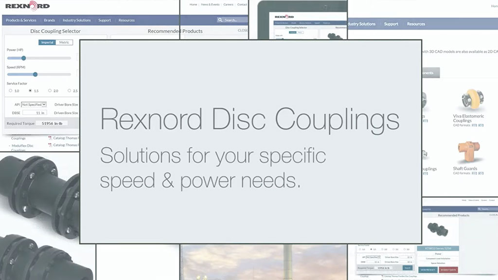 Rexnord Disc Coupling Portfolio Overview l SLS Partner Rexnord