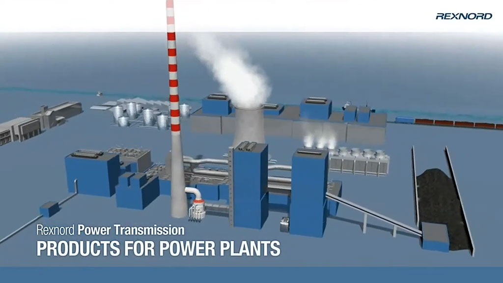 Rexnord Power Transmission Products and Solutions for Power Plants l SLS Partner Rexnord