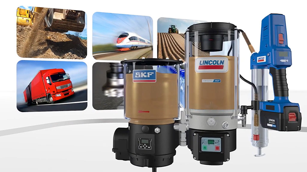 SKF Lincoln Lubrication solutions for construction machines and equipment I SLS Partner JSG