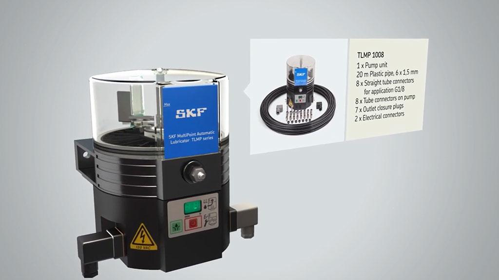 SKF MultiPoint lubricator TLMP series l SLS Partner SKF