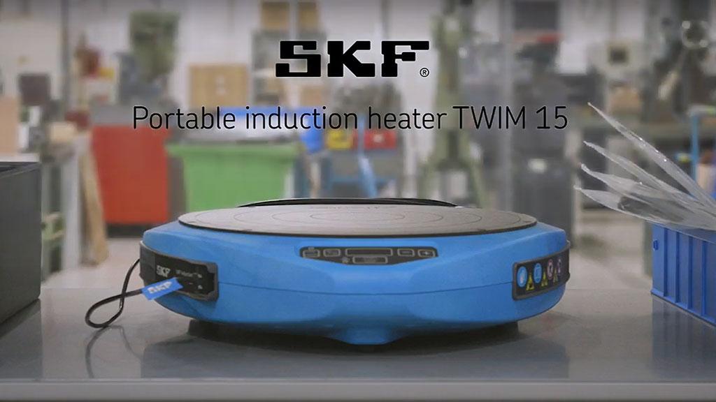 SKF Portable induction heater TWIM15 l SLS Partner SKF