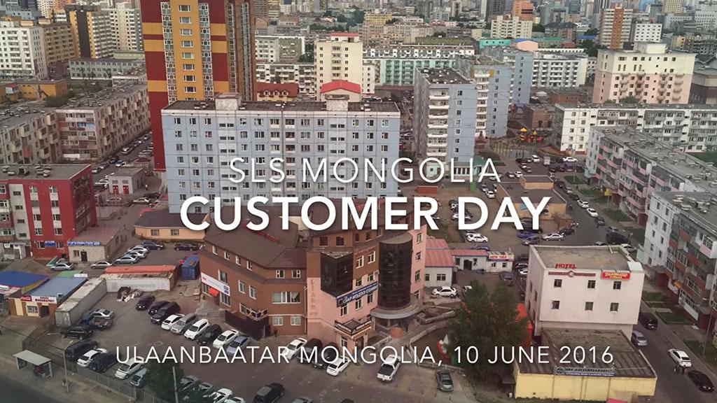 SLS Mongolia Customer Day (10 June 2016)