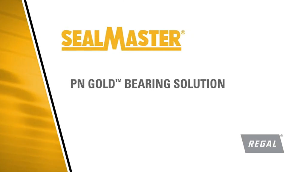 Sealmaster® PN Gold™ Mounted Ball Bearing Solution for Brewery I SLS Partner Regal Beloit