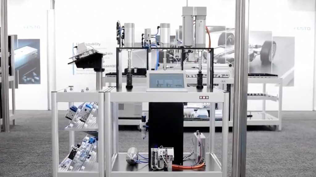 Energy efficiency, CO2 neutrality and sustainability in industrial automation l SLS Partner Festo