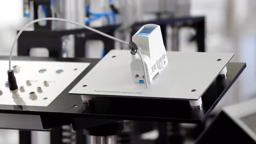 High-precision and reliable control - State-of-the-art proportional technology l SLS Partner Festo