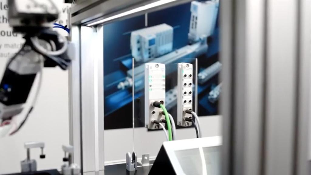 Connectivity in real time–Decentralised remote I/O system CPX-AP-I l SLS Partner Festo