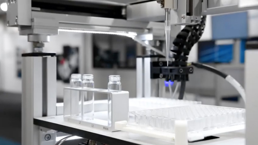 Improve the processes in your lab with a pressure driven pipetting solution l SLS Partner Festo